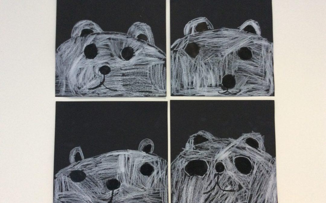 Galerie de portraits d'ours polaires